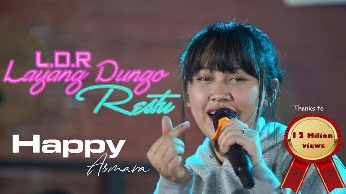 Lirik dan Chord laguLDRLayangDungRestuHappy Asmara, Roso Sayang Iki Ra Biso Lali