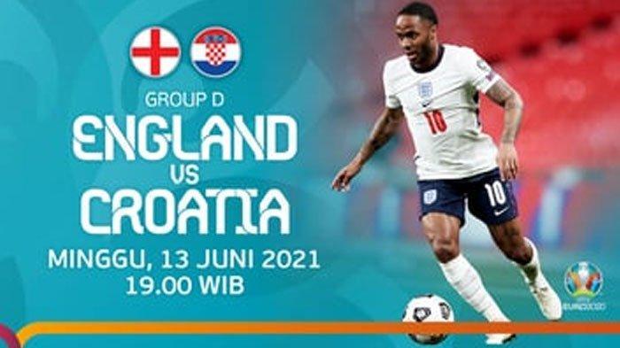 Prediksi Starting Line Up (Susunan Pemain) Inggris Vs Kroasia Euro 2020 Malam Ini