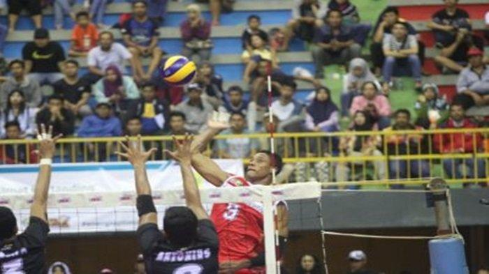 Live Streaming Inews TV Granda Final Proliga 2019 : Jakarta BNI 46 Vs Surabaya Bhayangkara Samator