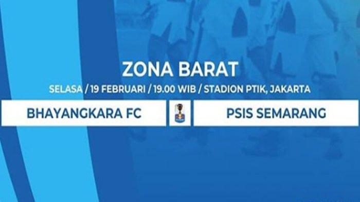 TV Online Jawapos TV (Live Streaming) Bhayangkara FC vs PSIS di Piala Indonesia, Incar Poin Penuh