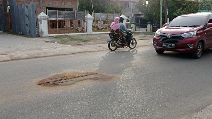 Kesaksian Warga, Kecelakaan di Jalan Siaran Perumnas Sako Palembang, Truk Langsung Pergi