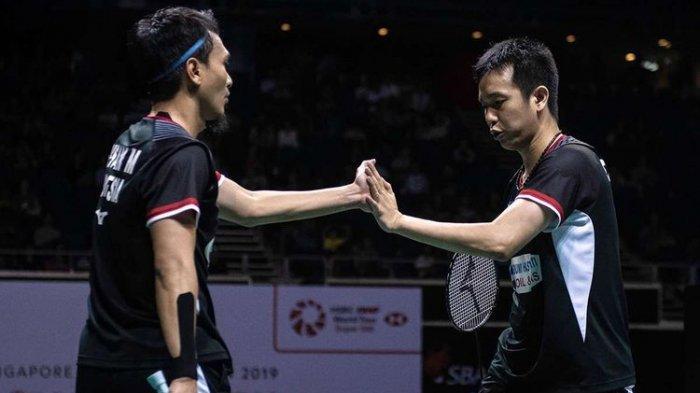 Cara Nonton Live Streaming Semifinal Bulutangkis Olimpiade: Ahsan/Hendra vs Lee Yang/Wang Chi Lin