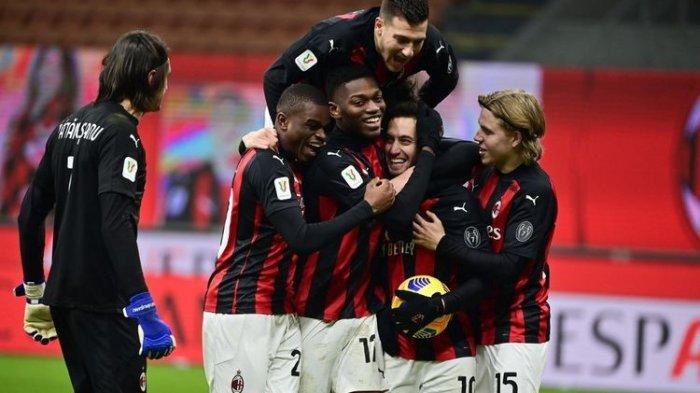 AC Milan Susah Payah Melaju ke Perempat Final Coppa Italia, Menang Lewat Adu Penalti