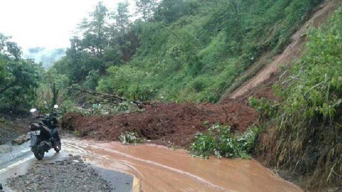 Longsor Tutup Jalan dari Lahat Menuju 5 Kecamatan, Warga Harus Memutar ke Pagaralam