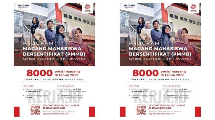 Lowongan Magang BUMN, 8000 Posisi Khusus untuk Mahasiswa ...