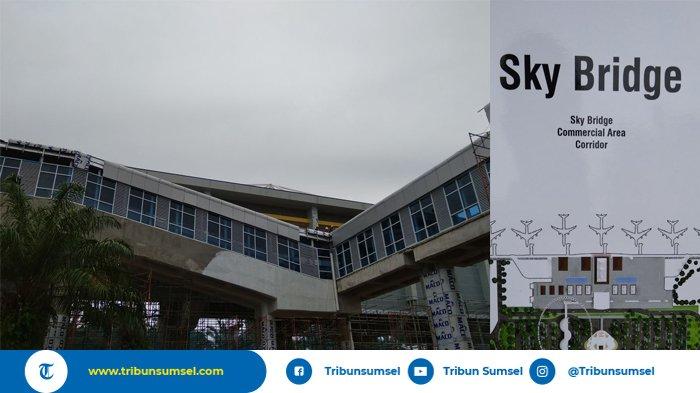 Skybridge LRT Beroperasi Bersamaan dengan Stasiun Bandara SMB II