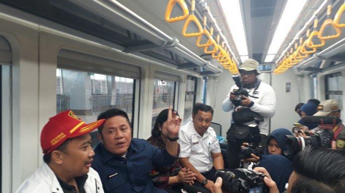 Gubernur Sumsel Herman Deru Inginkan di LRT Ada Fasilitas Wifi