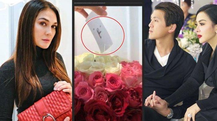 Luna Maya Dapat Kiriman Bunga Inisial 'R', Fans Syahrini Malah Memanas, Sebut Eks Reino Barack Halu