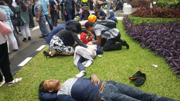 Mahasiswa UBD Korban Gedung BEI Ambruk Segera Dipulangkan