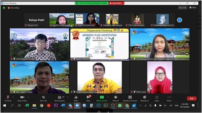 UMKM Mahasiswa UBD Raih Prestasi di Ajang Kompetisi Bisnis Plan Diselenggarakan BEM se-Bali