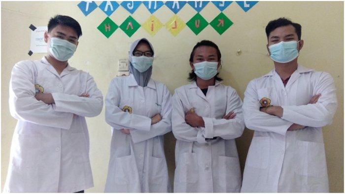 Mahasiswa Unsri Bikin Pipet Bahan Eceng Gondok dan Kulit Pisang, Cepat Terurai Aman Digunakan