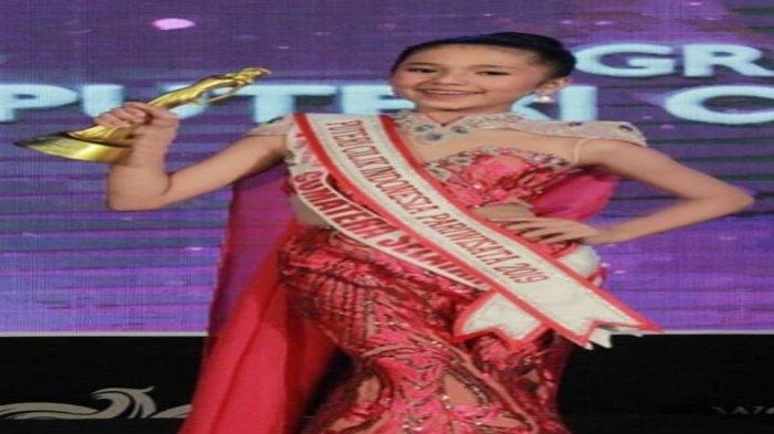 Kenalan dengan Maira Annisa Zafira, Remaja Asal Prabumulih Runner Up 1 Putri Cilik Indonesia 2019