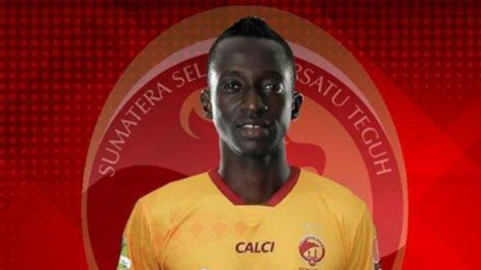 Terkuak, Ini Alasan Konate Lebih Pilih Sriwijaya FC Daripada Kembali ke Persib Bandung