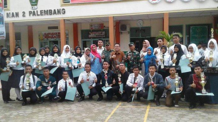 Paskibra MAN 1 Pemimpin Terbaik Putra The 2nd Competition Se Kota Palembang