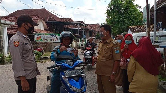 Mang Pedeka Serbu Kampung Zona Kuning Covid-19 di Kecamatan Tanjung Batu