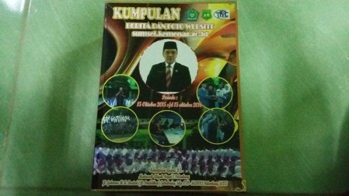 Hargai Karya Jurnalistik Siswanya, MAN 1 Palembang Terbitkan Buku Kumpulan Berita