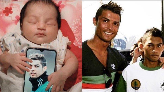 Kabar Gembira, Cristiano Ronaldo Jadi Kakek, Wajah Putri Martunis Anak Angkatnya Jadi Sorotan