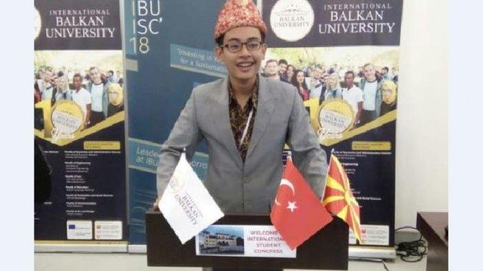 Mengenal Haidir Tamimi Putra Palembang Wakil Indonesia di International Student Congress Macedonia