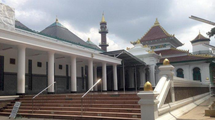 Pemkot Palembang Tiadakan Salat Ied Fitri 1442 H, Ini Respon Pengurus Masjid Agung Palembang