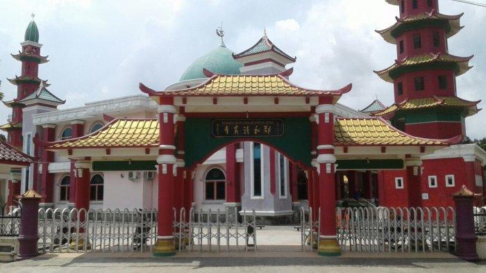 Masjid Cheng Ho Palembang Masuk Nominasi Wisata Religi Anugerah Pesona Indonesia 2019
