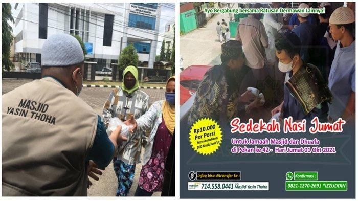 Masjid Yasin Thoha Palembang Pioner Gerakkan Umat Infaq-Sedekah Air Minum, Ajak Warga Jadi Dermawan
