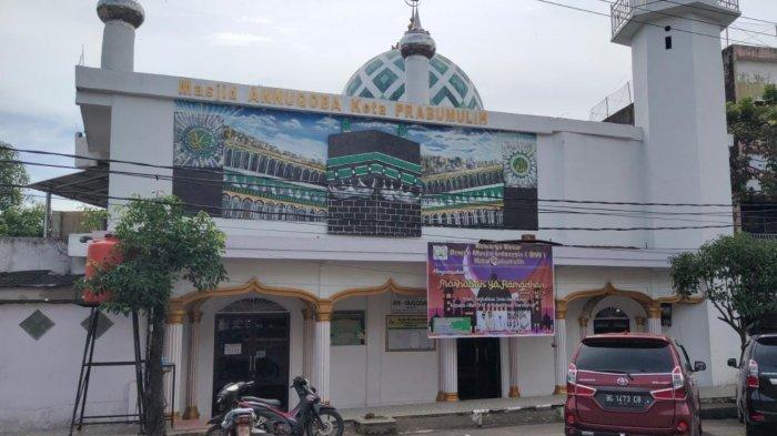 Sejarah Masjid Annuqoba Prabumulih, Berdiri Sejak 1949 Dulunya di Lebak, Pernah Diubah Jadi Mushola