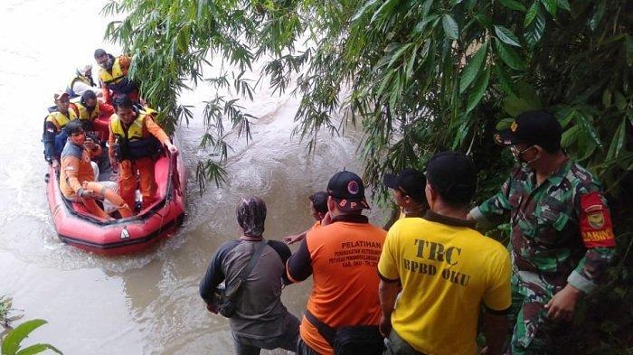 Balita 4 Tahun Tenggelam di Sungai Ogan Saat Ambil Ular Mainan Akhirnya Ditemukan Wafat