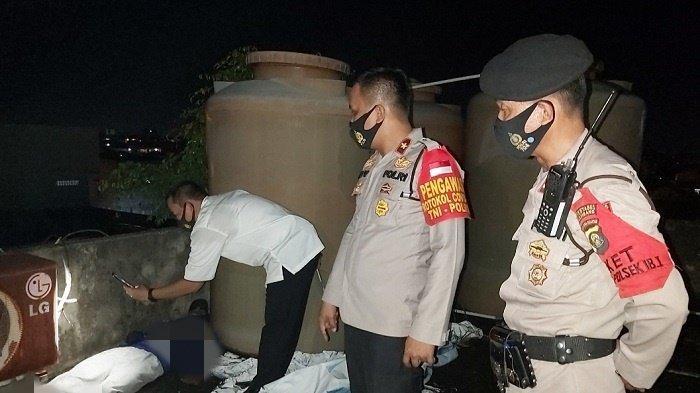 Polisi Ungkap Hasil Pemeriksaan Mayat Pria di Atap Gedung Jalan Angkatan 45 Palembang