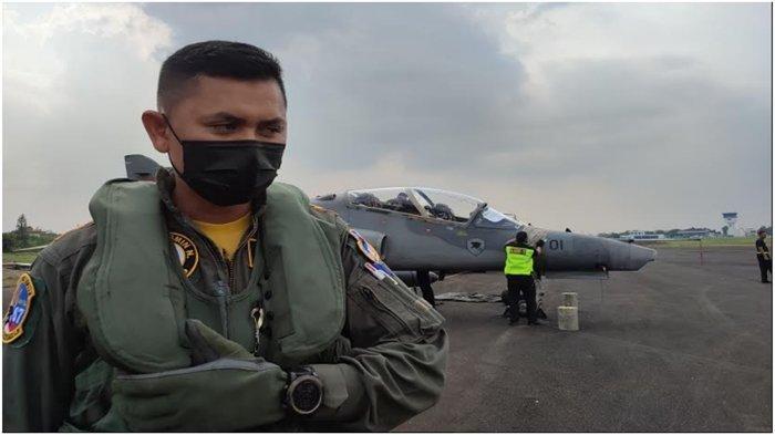 Cerita Mayor PNB Arie Prasetyo, Pulang Kampung ke Palembang Pakai Pesawat Tempur
