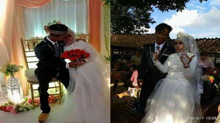 Foto-foto Mesra Mbah Gambreng (65) yang Menikah dengan Berondong Berusia 25 Tahun di Lempuing, OKI