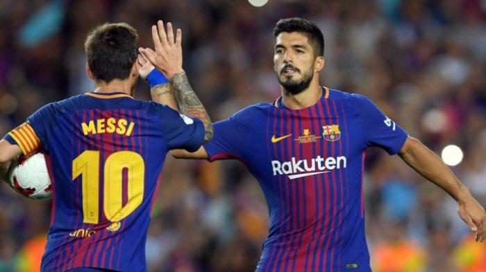 Janji Luis Suarez Jika Atletico Madrid Bertemu Dengan Barcelona : Tak Mengubah Apapun