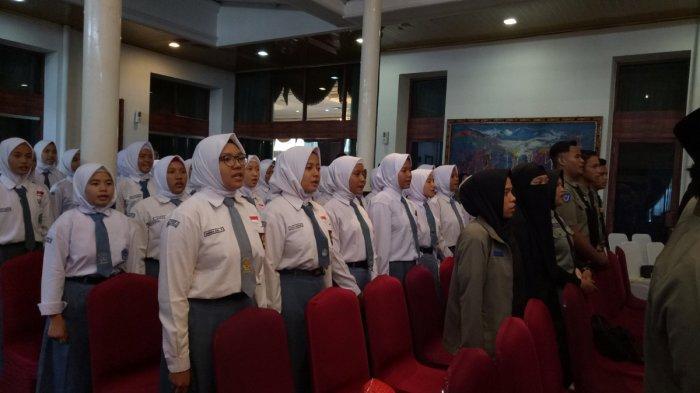 Latih Kader Baru, 103 Peserta LKS Se-Sumsel Hadir di Pembukaan LKS angkatan ke-25 di Griya Agung