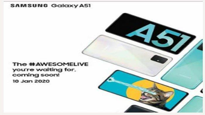Harga & Spesifikasi Galaxy A51, Smartphone Samsung Pertama yang Dirilis 2020
