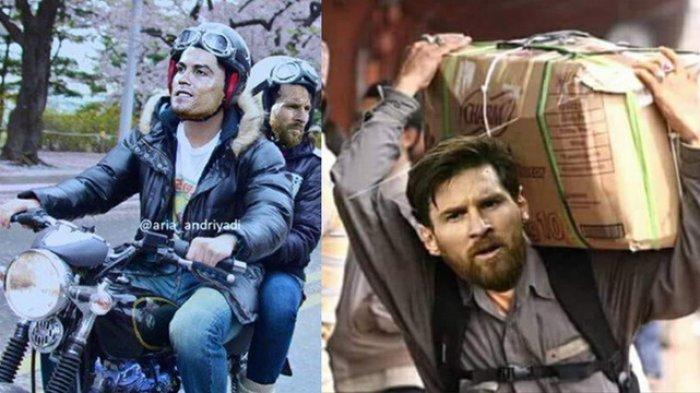 Meme Kocak Ronaldo dan Messi Jadi Viral Usai Keduanya Tersingkir dari Piala Dunia 2018