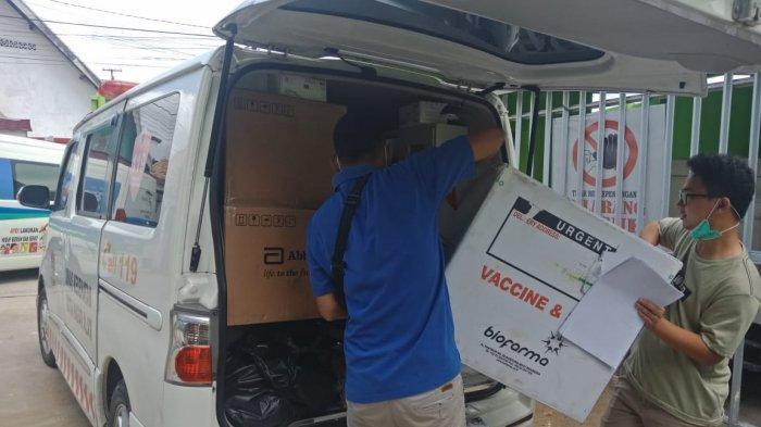 Dinkes Provinsi Sumsel Distribusikan 260 Ribu Dosis Vaksin ke Kabupaten/Kota