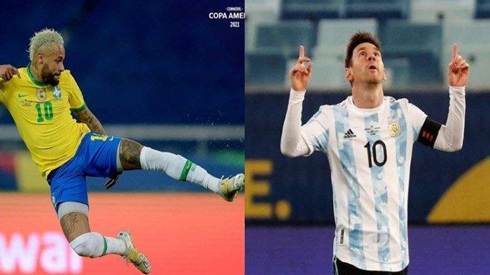 Final Copa America 2021 Brasil vs Argentina: Rakyat Brasil Dikabarkan Dukung Messi, Naymar Dkk Marah