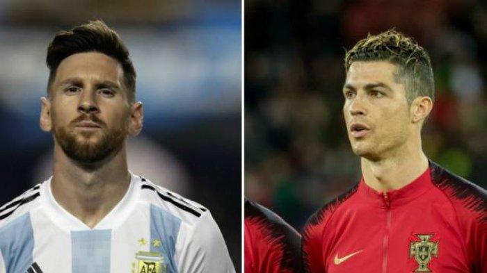 Sama-sama Lolos Fase Grup, Akankah Cristiano Ronaldo Bertemu Messi di Final Piala Dunia 2018?