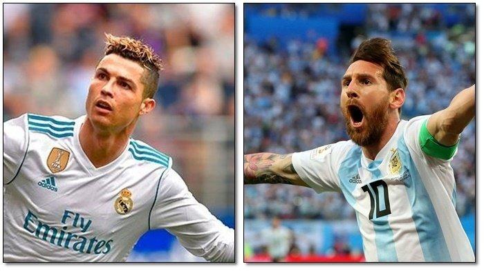 Sama-sama Terusir dari Piala Dunia 2018, Ini 5 Kesamaan Lionel Messi dan Cristiano Ronaldo