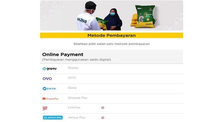 Cara Mudah Bayar Zakat Fitrah Online 2021 di Baznas, Ini Pilihan Metode Pembayaran