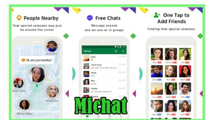 Aplikasi MiChat.