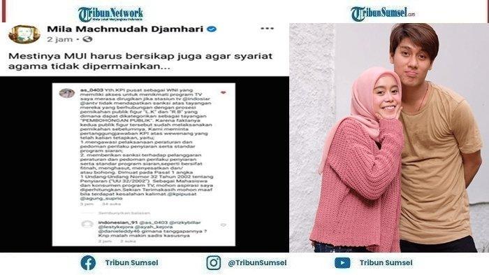 Mila Machmudah Sindir MUI Karena Tak Bersikap Soal Lesti & Billar yang Dituduh Permainkan Syariat