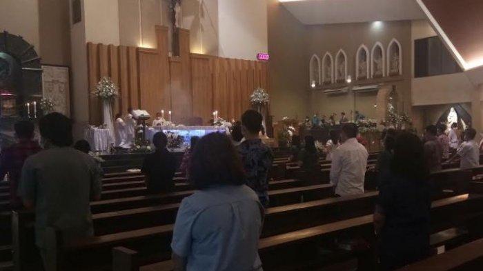Misa Natal di Gereja Santo Yoseph Palembang Malam Ini dan Besok Pagi Dibagi Dua Sesi
