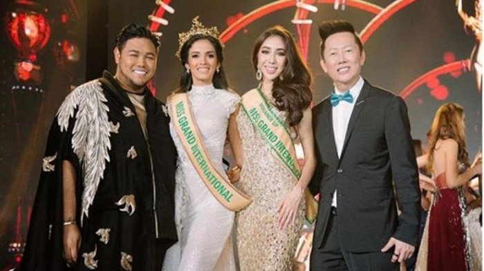 Indonesia Dikalahkan Paraguay di Miss Grand International 2018, Pesan Ivan Gunawan ke Nadia Purwoko