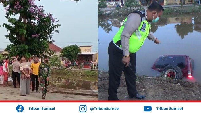 Kecelakaan Maut Sore Tadi, Mobil Pasutri Tercebur ke Sungai, Tenggelam Hingga 1 Jam, Istri Meninggal
