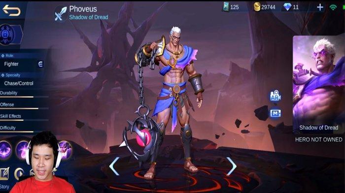 Hero Baru Mobile Legends 2021, Phoveus Ini Skil dan Build Itemnya