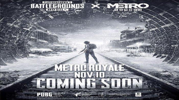 Event Baru PUBG Mobile November 2020, Mode Metro Exodus Royale