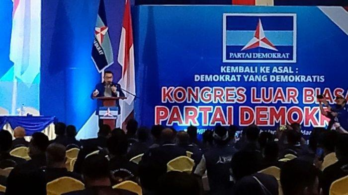 Yakin Gemparkan Indonesia, Inilah Isi Pidato Lengkap Moeldoko setelah jadi Ketum Demokrat Versi KLB