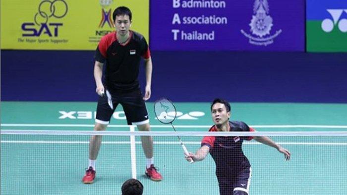 Link Live Streaming Thailand Open 2021 - Indonesia Perang Saudara di Partai Perdana