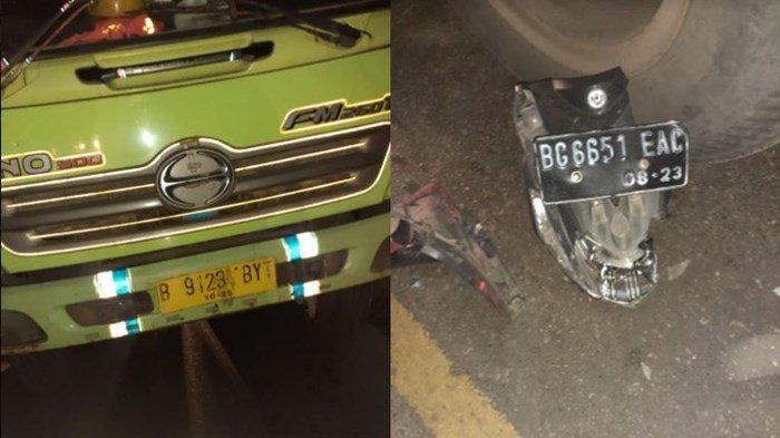 Zainal Tewas Kecelakaan, Motornya Tabrak Truk Berhenti di Pinggir Jalan Desa Sukacinta Merapi Lahat