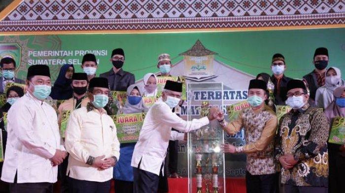 Wagub Mawardi Yahya Resmi Tutup MTQ Terbatas 2020, Janjikan Reward jika Menang di Tingkat Nasional